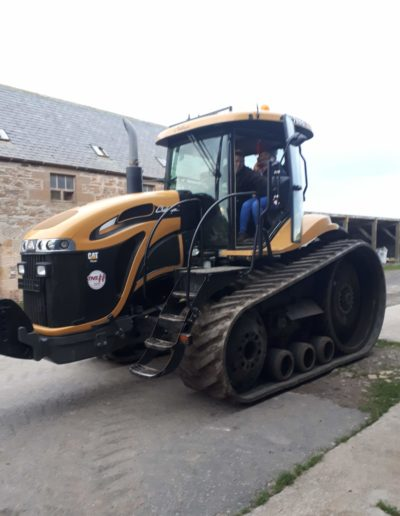 Tractor Driving Experience at Byres Farm